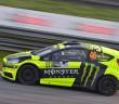 La Fiesta Monster di Valentino Rossi in action
