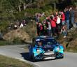 La Ford Fiesta WRC di Salanon.