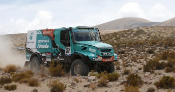 Il camion Iveco con cui Gerard De Rooy si è imposto alla Dakar.