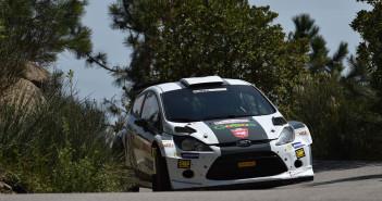 Nucita al volante della Fiesta RRC by Delta Rally