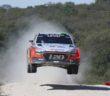 La Hyundai di Paddon in rampa di lancio per il successo finale.