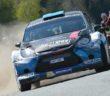 La Fiesta WRC di Neubauer lascia solo polvere per gli avversari.