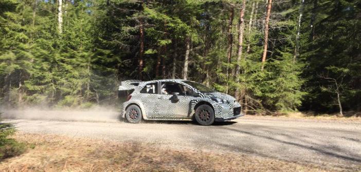 YARIS WRC IN TEST