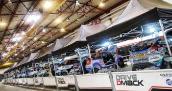 Le Fiesta R2 DDFT sotto le tende M-Sport.