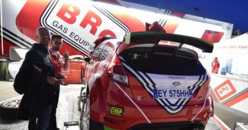 BRC dall'Adriatico avrà due Fiesta sotto le sue tende.
