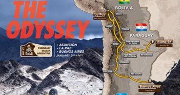 Il percorso della prossima Dakar