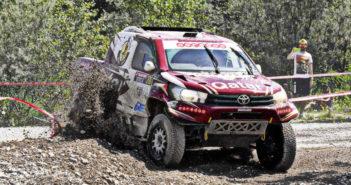 La Toyota Hilux di Nasser continua a vincere.