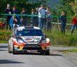 La Fiesta WRC di Brunson al Limousin.
