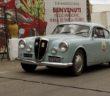 La vettura del vincitore in foto di archivio