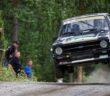 L'Escort di Calzolari vola sui dossi Finlandesi