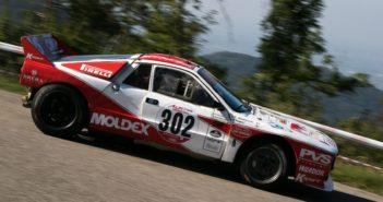 La Lancia Rally 037 sulle strade Friulane