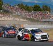 l'Audi S1 regina di Barcellona con Ekstrom