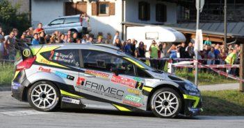 La Fiesta WRC di Marco Signor