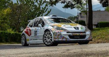 La Peugeot di Ronzano sulle strade Cuneesi.
