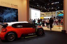 La Citroen C3 WRC presentata al salone di Parigi
