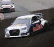 L'Audi S1 di Ekstrom festeggia all'Estering.