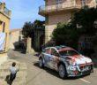 Abbring con la i20 R5 al debutto sulle strade di Corsica.