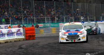 Andreucci a la fida Peugeot 208 in azione a Monza