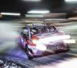Il volto sfuocato della Yaris WRC.
