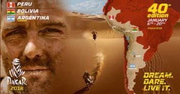 Il manifesto della 40° Dakar