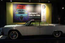 Una delle tante vetture presenti nella mostra.