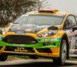 La Fiesta di Carron mentre vola via nella classifica.