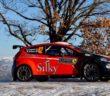 La Fiesta R5 D-Max di Crugnola al Montecarlo.