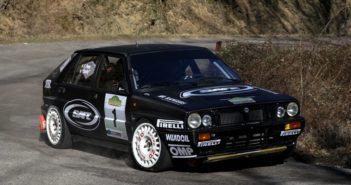 La Lancia Delta Integrale 16v di Lucky sulle speciali Aretine.