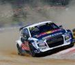 L'Audi S1 di Ekstrom lascia tutti nella polvere.
