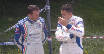 Merli e Faggioli in una foto di archivio.