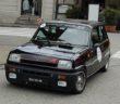 La Renaul 5 Alpine di Carlo Pretti in azione