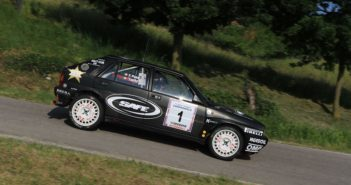 "La Lancia Delta ""all Black"" di Lucky"
