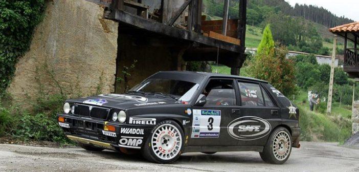 La Lancia Delta di Lucky padrona delle Asturie.