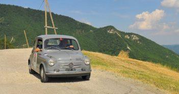 La Fiat 600 di Fortin in un immagine di archivio