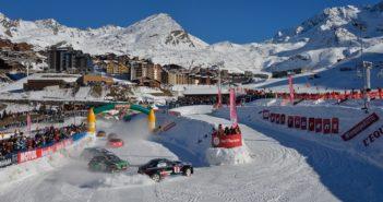 Il circuito di Val Thorens nell'apertura della passata stagione.