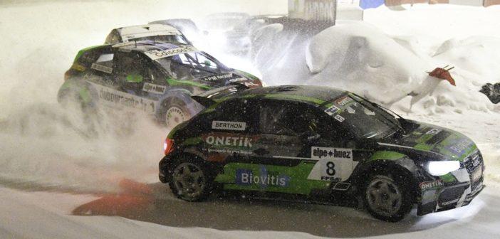 L'Audi A1 di Berthon mette tutti in fila sotto la neve