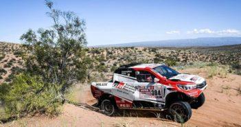 La Toyota Hilux del sud Africano sulla boucle di Cordoba