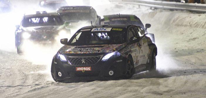 La finalissima con la Peugeot 3008 di Riviere a tirare il gruppo.