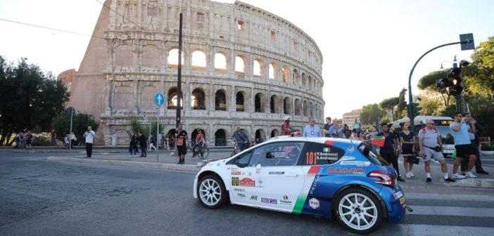 Paolo Andreucci e la Peugeot 208T16 R5 nell'arena del CIR