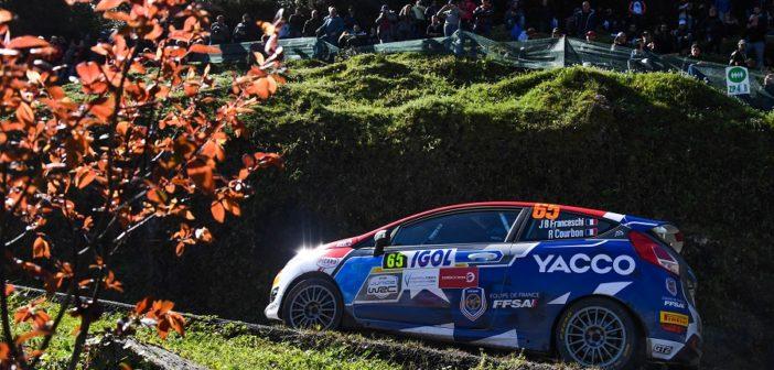 La Fiesta del campione Junior Francese 2017 fa il vuoto nel WRCJ