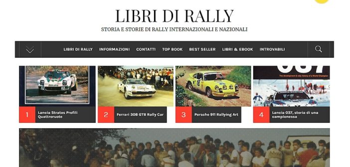 Il nuovo database del libro da rally.