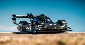 La Volkswagen I.D. R Pikes Peak in Colorado