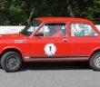La Fiat 128 di Aravecchia in azione