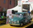 La FIAT 600 di Rapisarda sulla pedana del Renati.