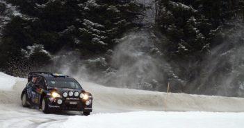 Tidemand al volante della Fiesta RS WRC nello Sweden 2014