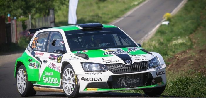 Il vincitore 2018 Basso sugli asfalti della Transilvania.