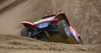 Le impegnative dune di sabbia dei deserti d'oriente.