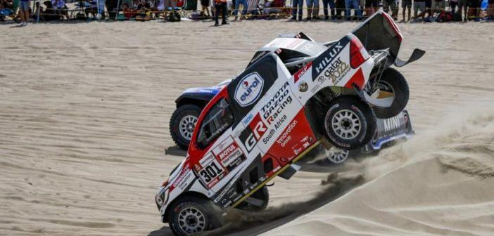 Nasser salta Sainz nella prima tappa.