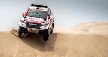 La Toyota Hilux di Nasser al contrattacco.