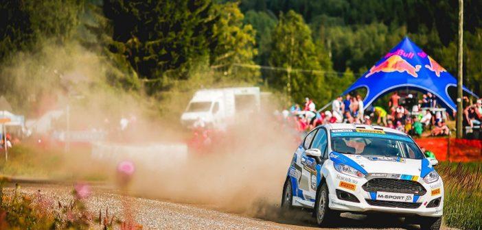 La Fiesta di Ken Torn nella sua cavalcata vittoriosa in Finlandia.